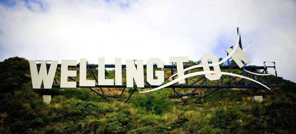 Wellington Hollywood sign