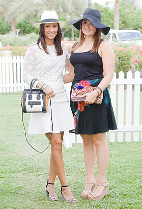 Grazia Middle East- Polo at the Palace
