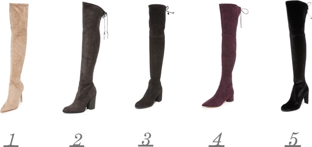 over the knee boots, kat lebrasse, winter boots
