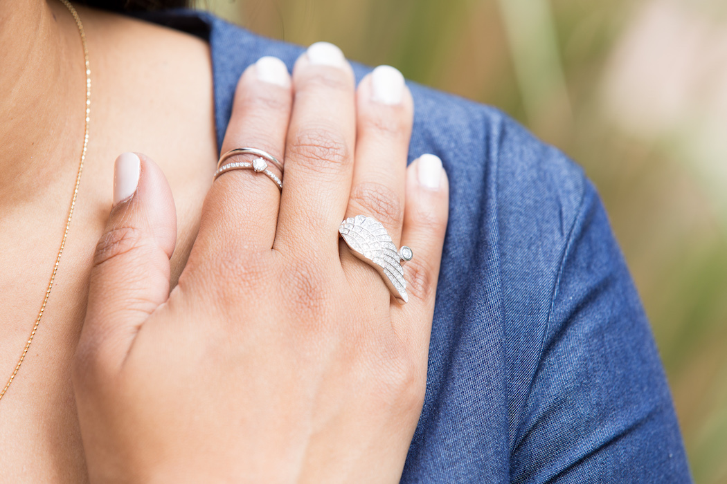 Kat Lebrasse, Jewel Corner, diamonds, pearls